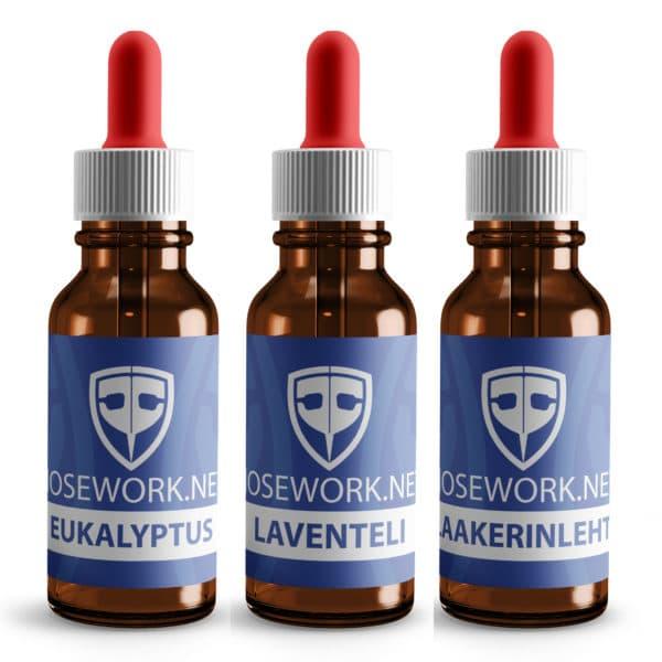 Nose Work Eukalyptus Laventeli ja Laakerinlehti