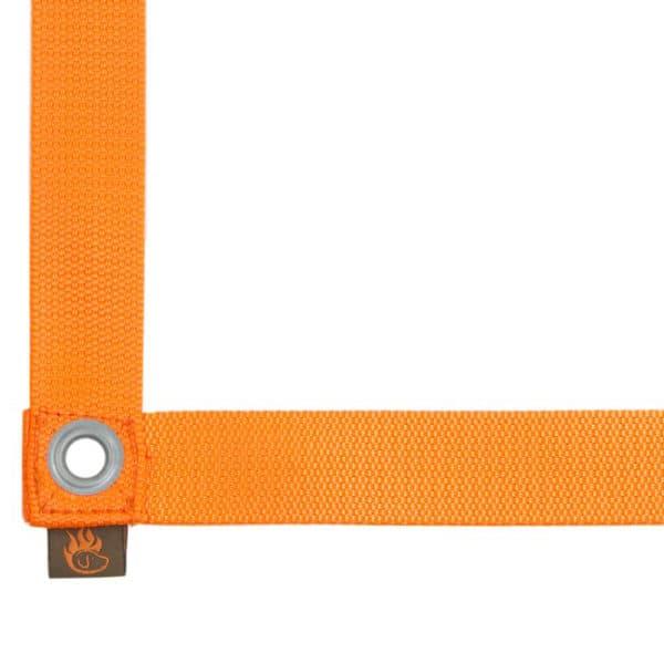 Firedog TOKO ruutunauha 3m x 3m, oranssi