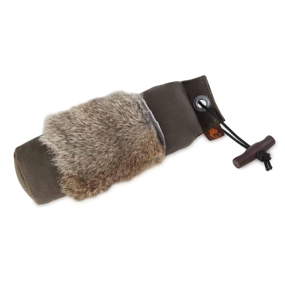 Firedog standard dummy 500g kaninkarvalla, khaki