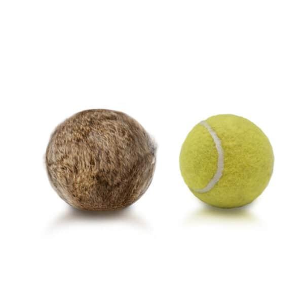Firedog kaninkarva tennispallo